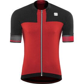 Sportful Strike Maillot de cyclisme Homme, red/black